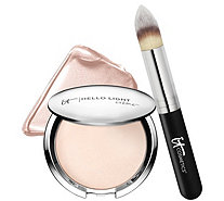 IT Cosmetics Hello Light Anti-Aging Creme Luminizer with Brush - A226174