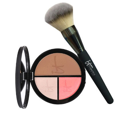 IT Cosmetics Anti-Aging Vitality Face Disc with Luxe Brush