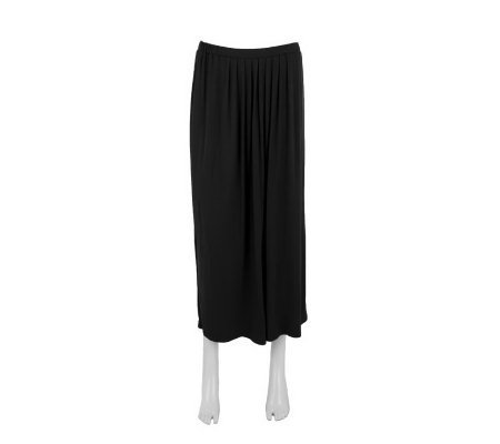 Linea by Louis Dell'Olio Pleat Front Knit Boot Skirt