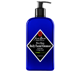 Jack Black Pure Clean Daily Facial Cleanser, 16oz - A244274