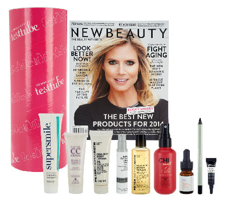 New Beauty 8-Piece Test Tube with Magazine Limited Edition