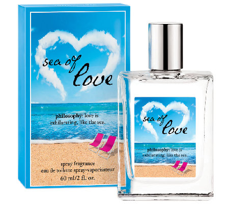 philosophy sea of love 2 fl oz eau de toilette