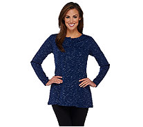 Linea Leisure by Louis Dell'Olio Long Sleeve Knit Tunic - A267874