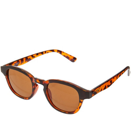LOGO by Lori Goldstein Rounded Frame Sunglasses