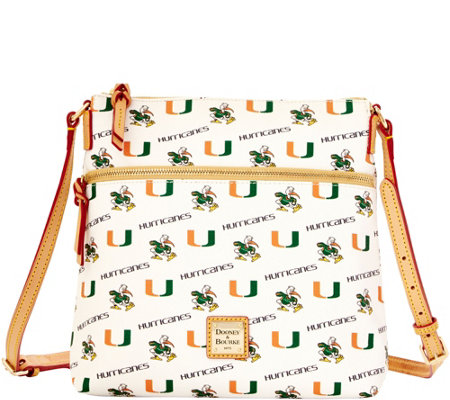 Dooney & Bourke NCAA University of Miami Crossbody