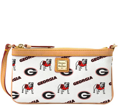 Dooney & Bourke NCAA University of Georgia Slim Wristlet