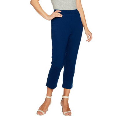 Joan Rivers Joan's Signature Pull-on Crop Pants