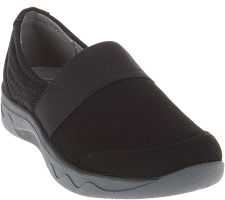 """As Is"" Clarks Cloud Steppers Slip-On Shoes - McKella Mesa"