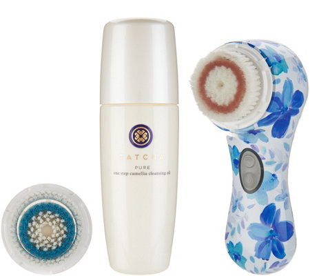 Clarisonic Mia2 Sonic Cleansing System with Brush Head & Tatcha Cleanser
