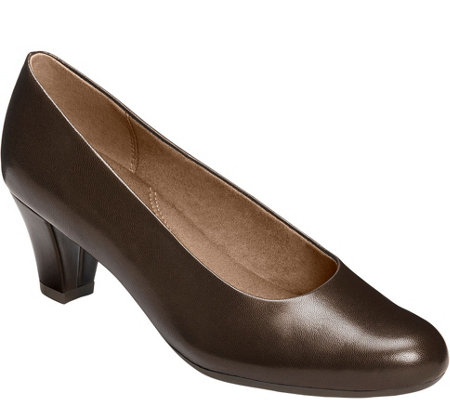 Aerosoles Mid Heel Pumps - Shore Thing