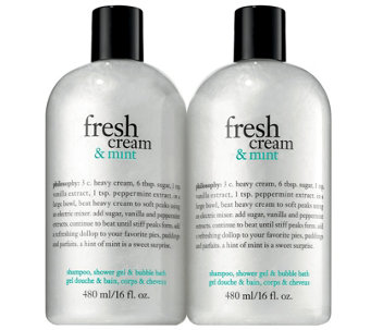 Philosophy Fresh Cream and Mint Duo - A356174