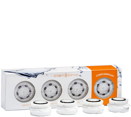 Clarisonic Brush Head Sensitive - 4 Pack — QVC.com