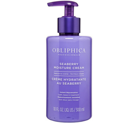 Obliphica Seaberry Moisture Cream Protectionfor Coarse Hair