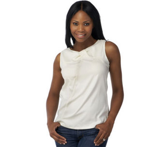 Kathleen Kirkwood Stretch Sheath Camisole with a Twist - A90374