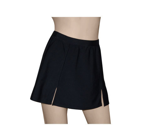 Carol Wior Pull-On Swim Skirt