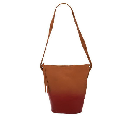 Kelsi Dagger Avery Dip-Dyed Long Shoulder Bucket Bag