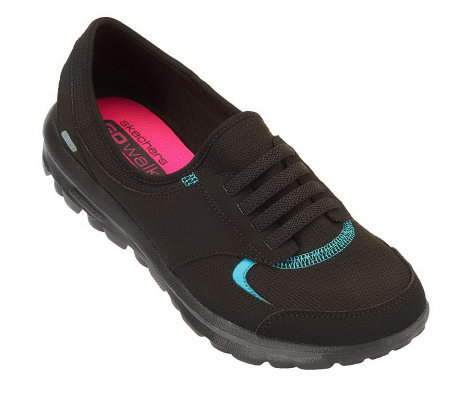 Skechers GOwalk Leather & Mesh Slip-on Sneaker - Premier