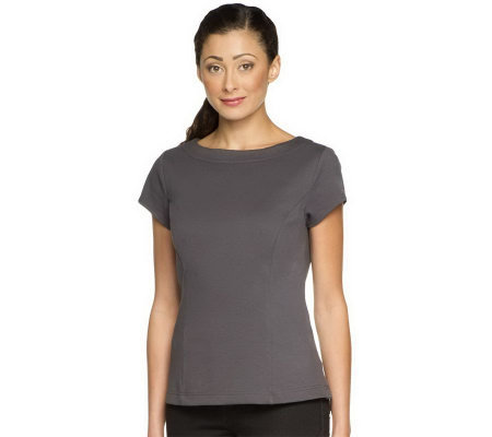 Status by Star Jones Ponte Knit T-Shirt