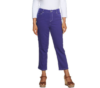 Liz Claiborne New York Regular Hepburn Crop Jeans - A253075