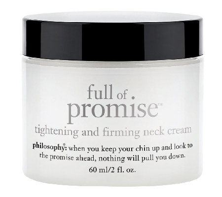 philosophy full of promise neck and decollete cream 2 oz.
