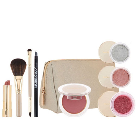 bareMinerals Chandelight Glow Rekindled 8pc Kit & Bag