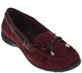 Vionic Orthotic Leather Loafers - Kendall - A270375