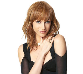 Hairdo Wavy Cut Wig with Bangs - A271975
