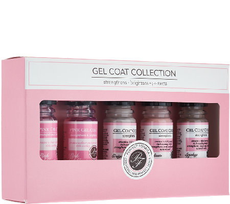 Perfect Formula 5 Piece Gel Coat Color Collection