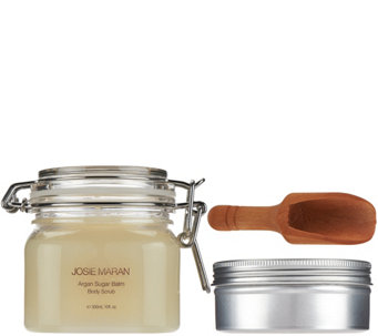Josie Maran Argan Balm & Sugar Scrub Duo in Vanilla Pear - A272775
