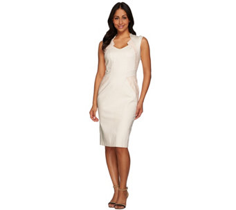 G.I.L.I. Regular Sleeveless Dress with Lace Insets - A273275