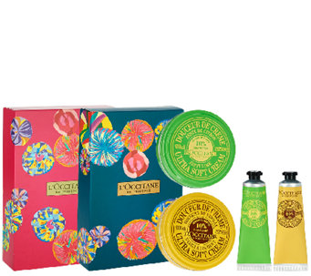 L'Occitane 4-piece Ultra Soft Body Cream & Hand Cream Set - A273775