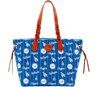 Dooney & Bourke MLB Nylon Dodgers Shopper - A281675