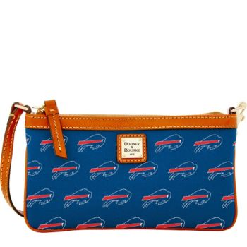 Dooney & Bourke NFL Bills Large Slim Wristlet
