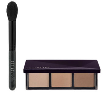 Fiona Stiles Sheer Sculpting Palette w/ Brush - A286875
