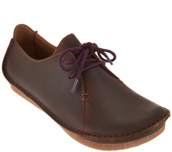Clarks Artisan Leather Lace-up Shoes - Janey Mae - A289375