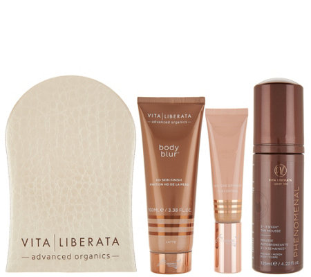 Vita Liberata Phenomenal Self-Tan Face & Body Kit