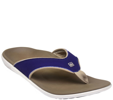 Spenco Men's Orthotic Thong Sandals - Yumi