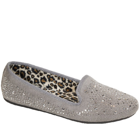 Hush Puppies Smoking Slippers - Carnation