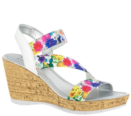 Tuscany by Easy Street Wedge Sandals - Piceno
