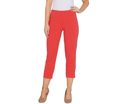 """As Is"" Wicked by Women with Control Petite Crop Pants"