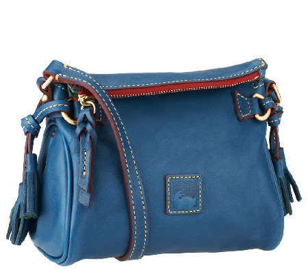 Dooney & Bourke Florentine Leather Mini Zip Crossbody