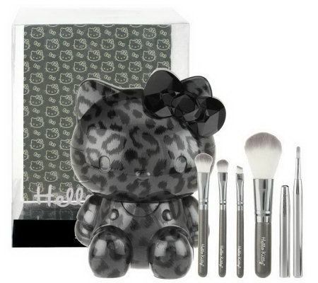 Hello Kitty Wild Things 5-piece Brush Set