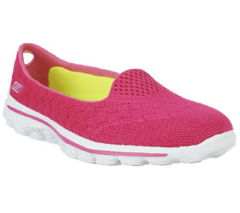 Skechers GOwalk 2 Mesh Lightweight Slip-on Shoes - Axis - A253676
