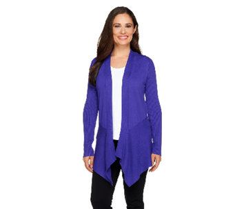 Linea by Louis Dell'Olio Whisper Knit Open Front Cardigan - A257376
