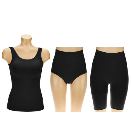 Legacy Shapewear Wardrobe with Cami, Long Short & Brief