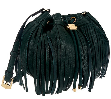 Aimee Kestenberg Pebble Leather Fringe Crossbody