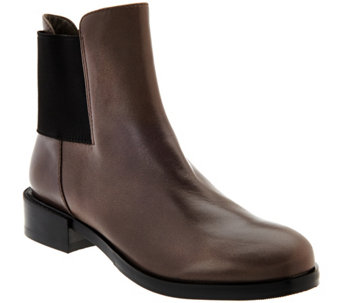 Clarks Narrative Leather Chelsea Boots - Marquette Wish - A271076