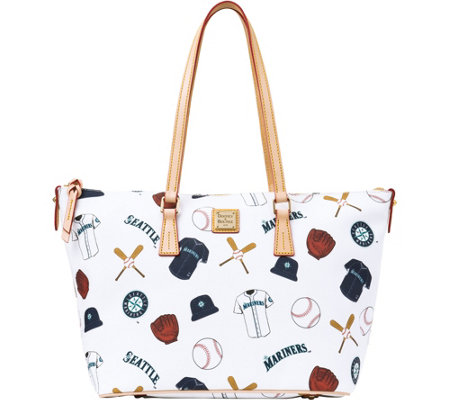 Dooney & Bourke MLB Mariners Zip Top Shopper