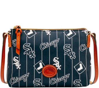 Dooney & Bourke MLB Nylon White Sox Crossbody Pouchette - A281576