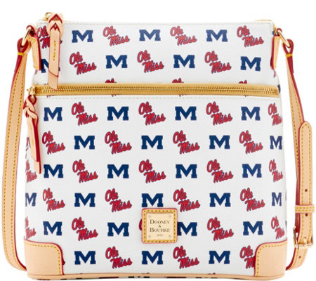 Dooney & Bourke NCAA Ole Miss University Crossbody